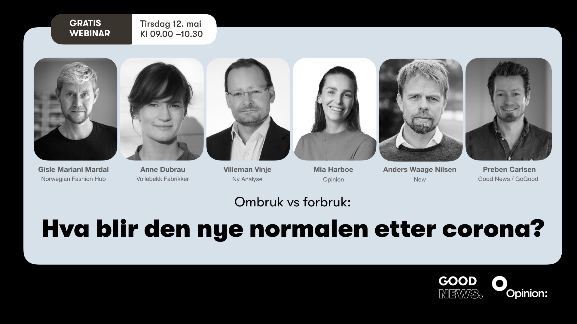 Gratis webinar fra Opinion og Good News